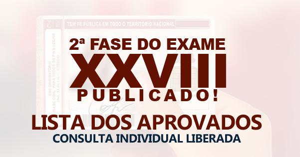 OAB divulga resultado da 2ª fase do XXVIII Exame deOrdem